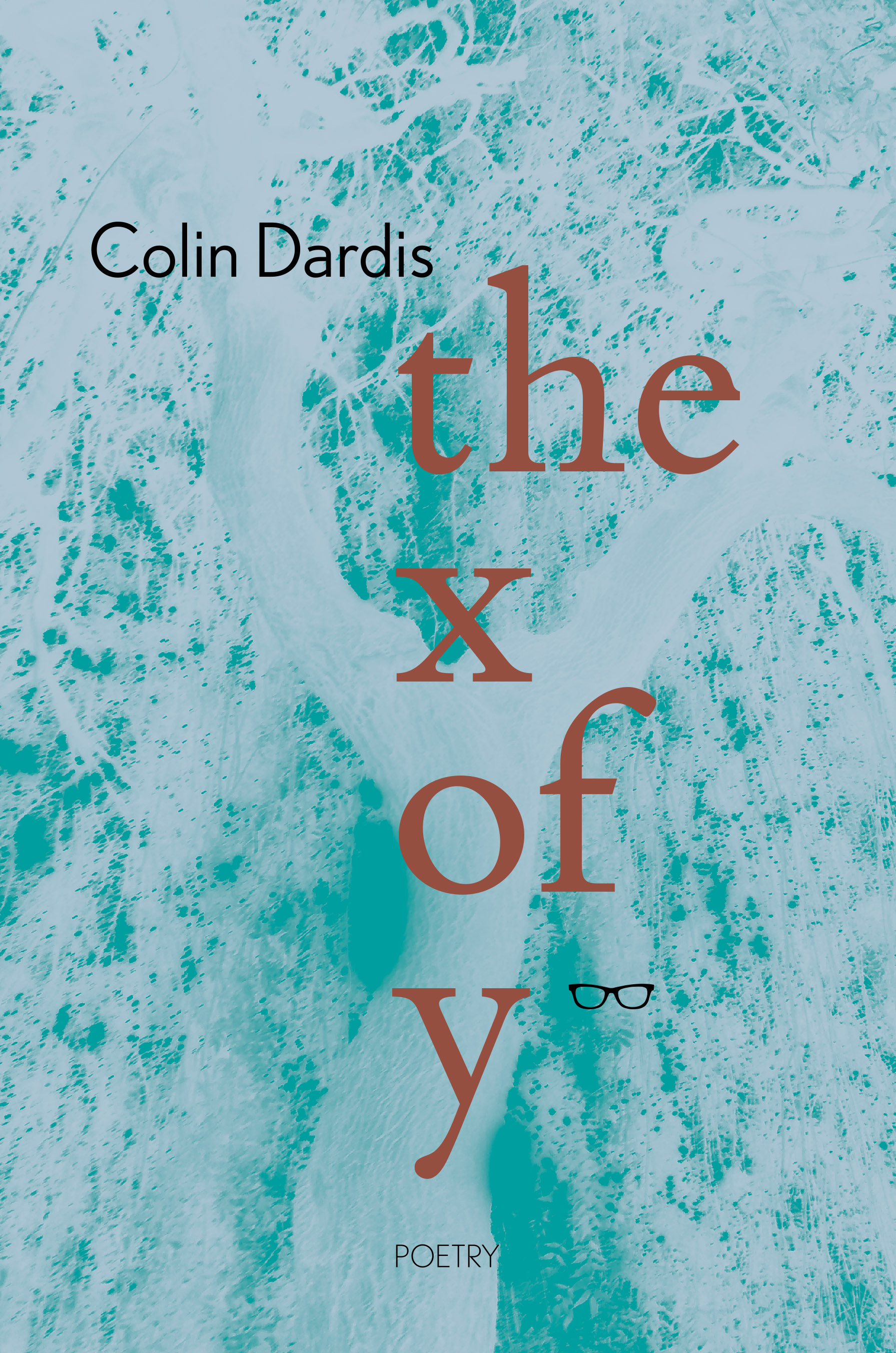 Cover of Colin Dardis poetry, The x of y