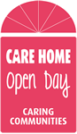 logo for care home open day