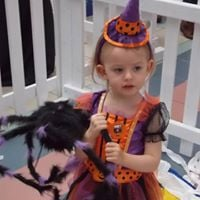 Little witch at SBooky Halloween