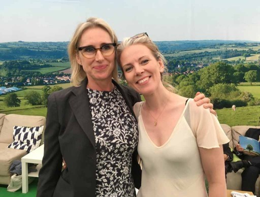Lauren Child and Sarah Crossan