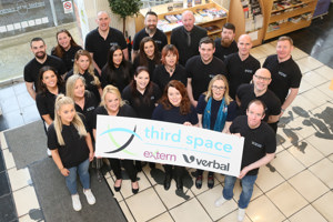 Team leading the Third Space project