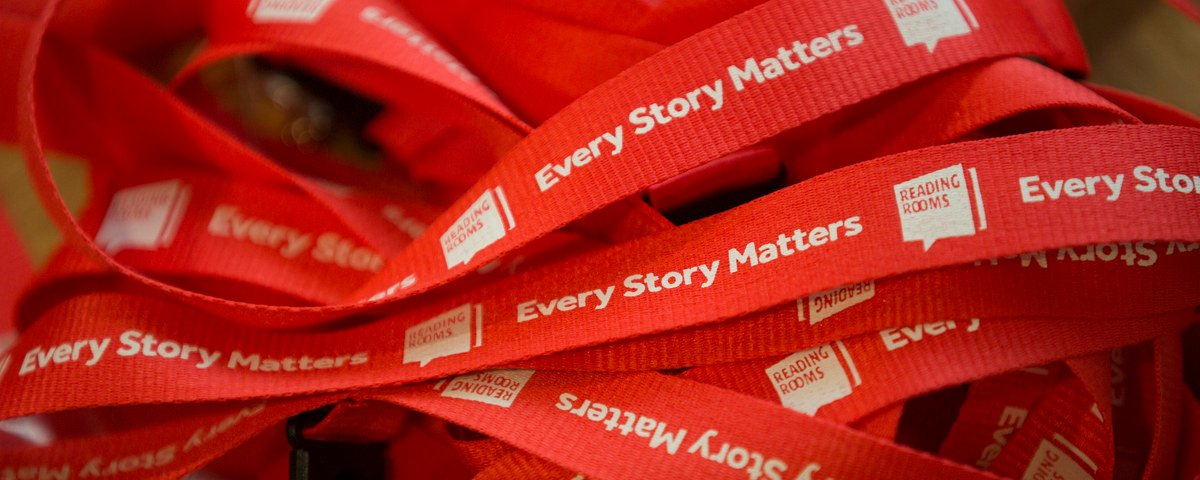 Every story matters lanyards
