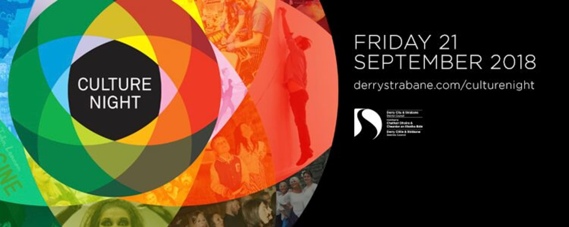 Culture night logo for Derry and Strabane
