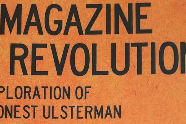 A Magazine Of Revolution